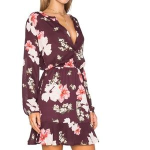 Cupcakes and Cashmere from Revolve Burgundy Dress